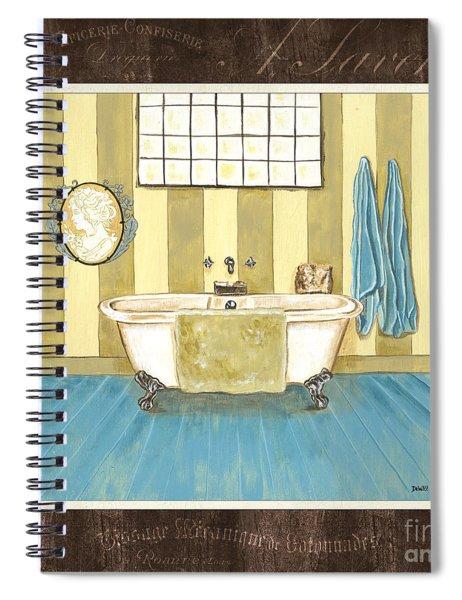 French Bath 2 Spiral Notebook