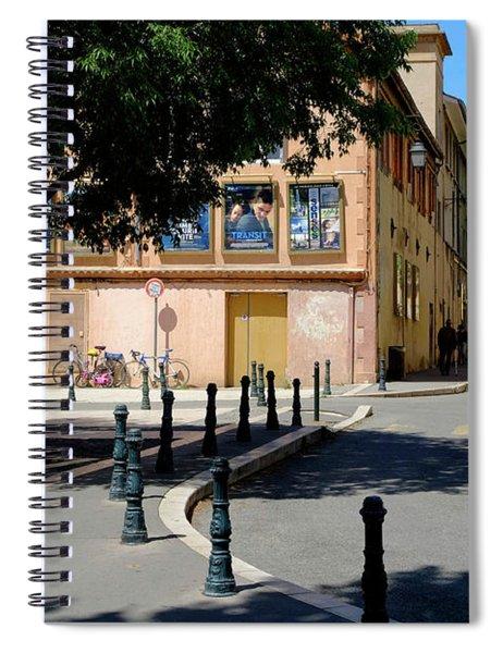 French Cinema Spiral Notebook