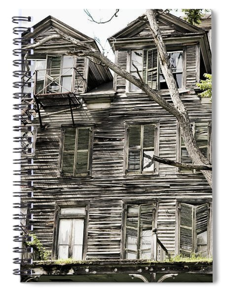 French Doors And Fire Escapes Spiral Notebook