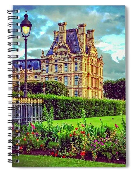 French Garden Spiral Notebook
