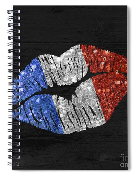 French Kiss Spiral Notebook