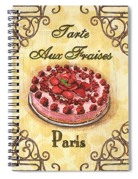 French Pastry 1 Spiral Notebook