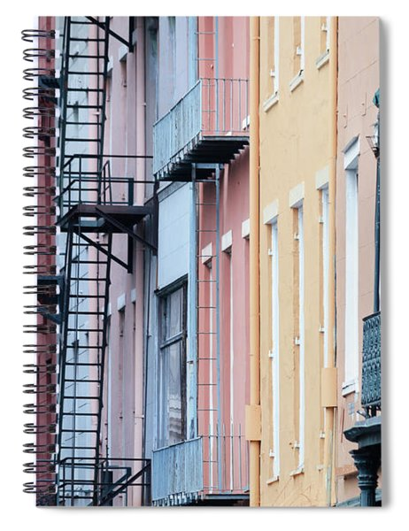 French Quarter Colors Spiral Notebook