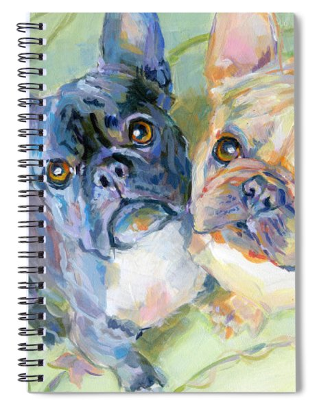Frenchies Spiral Notebook
