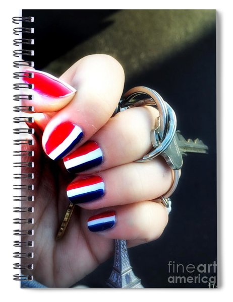 Frenchy Nails Spiral Notebook