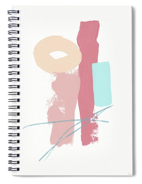 Fresh Abstract 1- Art By Linda Woods Spiral Notebook by Linda Woods