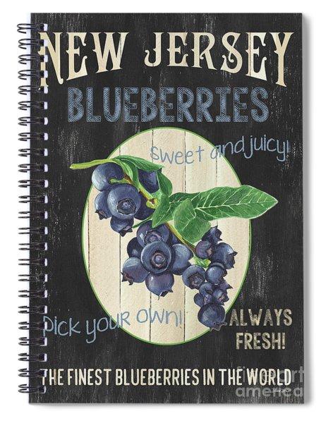 Fresh Berries 1 Spiral Notebook