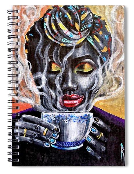 Fresh Brewed Spiral Notebook
