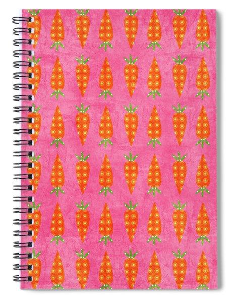 Fresh Carrots Spiral Notebook