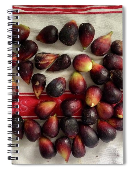 Fresh Figs Spiral Notebook