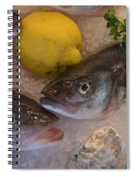 Fresh Fish Spiral Notebook