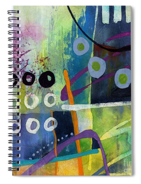 Fresh Jazz In A Square 2 Spiral Notebook