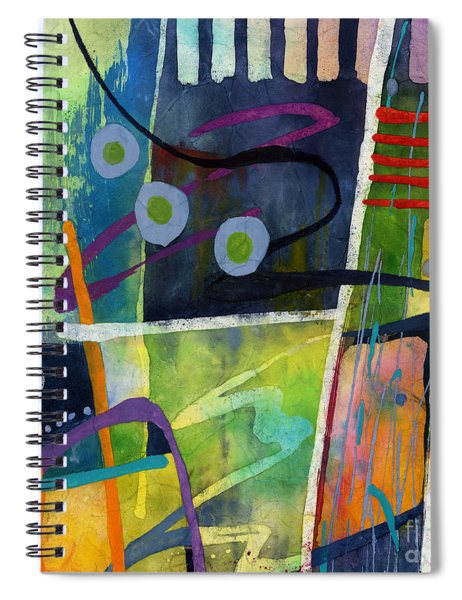 Fresh Jazz In A Square Spiral Notebook