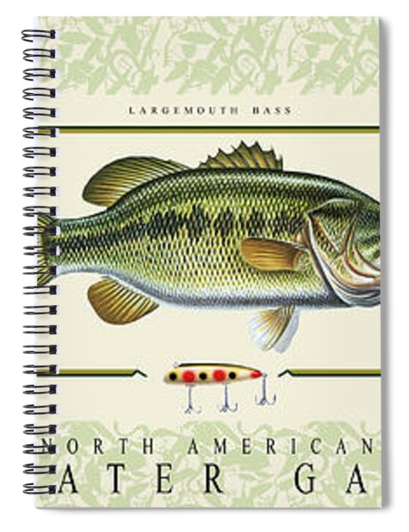 Freshwater Gamefish Spiral Notebook