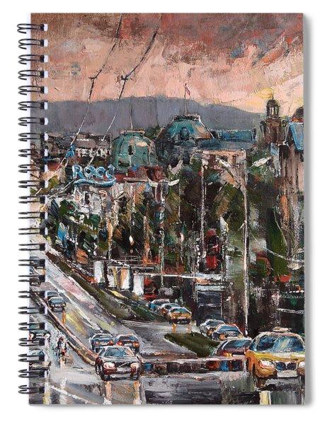 Friday Eveneing Spiral Notebook