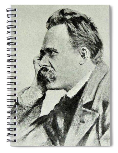 Friedrich Nietzsche, 1912 Spiral Notebook