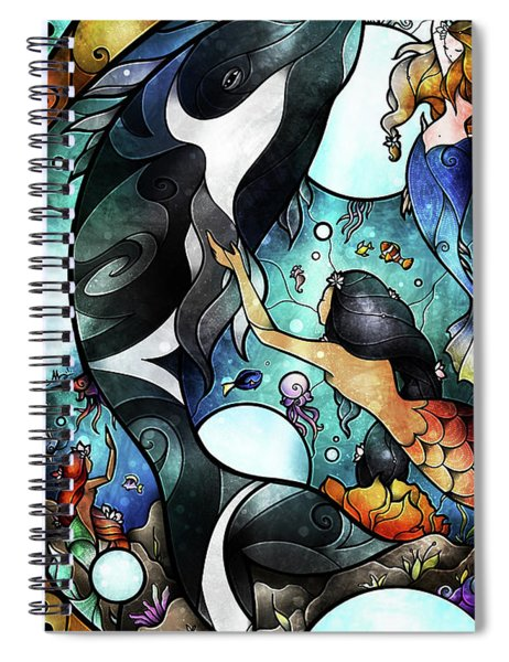 Friend Of The Maidens Spiral Notebook