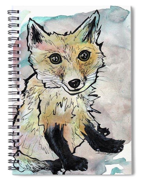 Friendly Fox Spiral Notebook