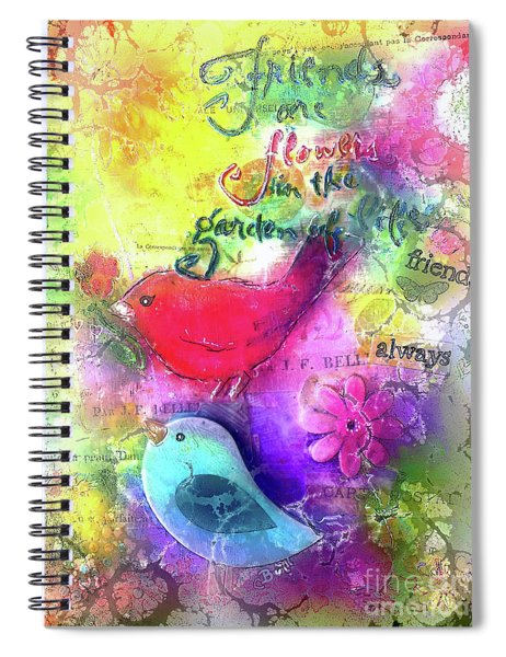 Friends Always Spiral Notebook