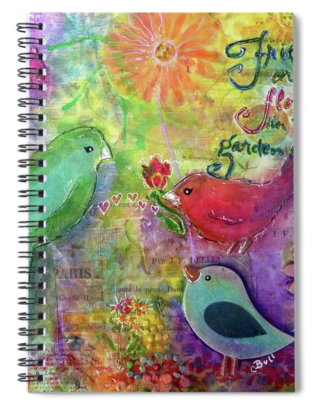 Friends Always Together Spiral Notebook