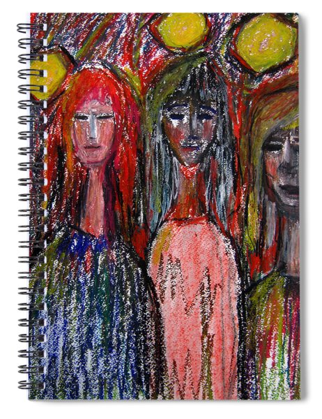Friends Spiral Notebook