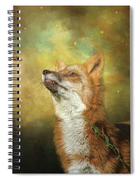 Friends On A Firefly Evening Spiral Notebook
