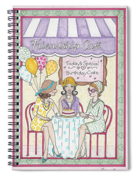Friendship Cafe Spiral Notebook