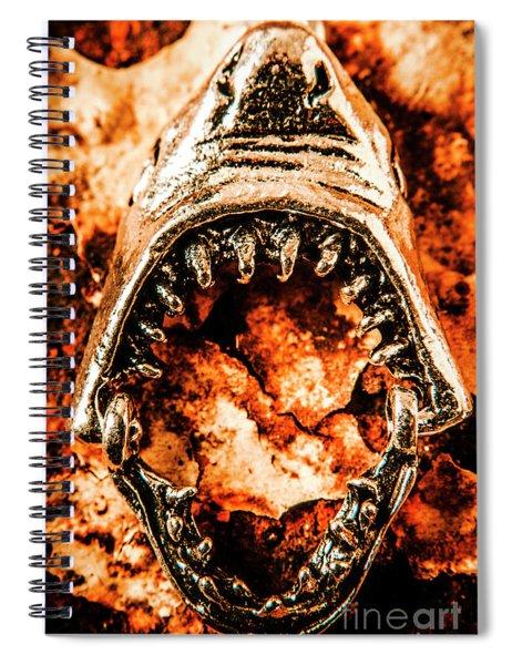 Frightening Marine Scene Spiral Notebook