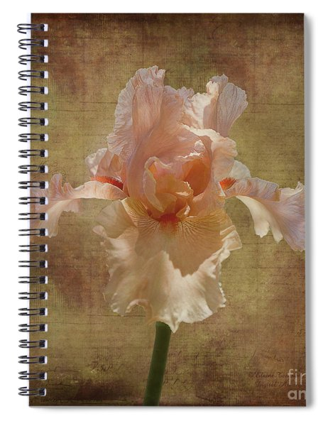 Frilly Iris Spiral Notebook