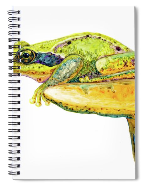 Frog Sitting On A Toad-stool Spiral Notebook