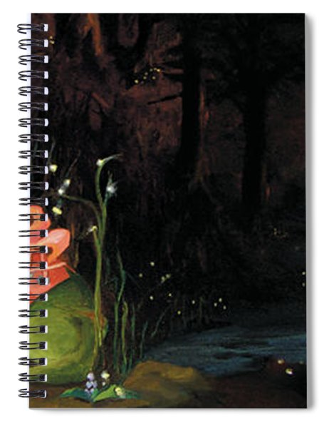 Frogs At Silver Lake Spiral Notebook