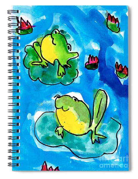 Frogs Spiral Notebook