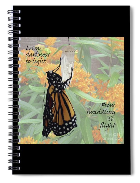 From Darkness To Light Spiral Notebook