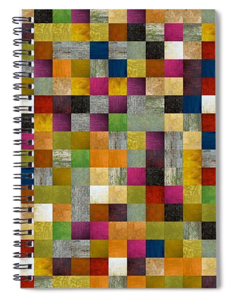 From Fence To Feast Panel Sketch Spiral Notebook