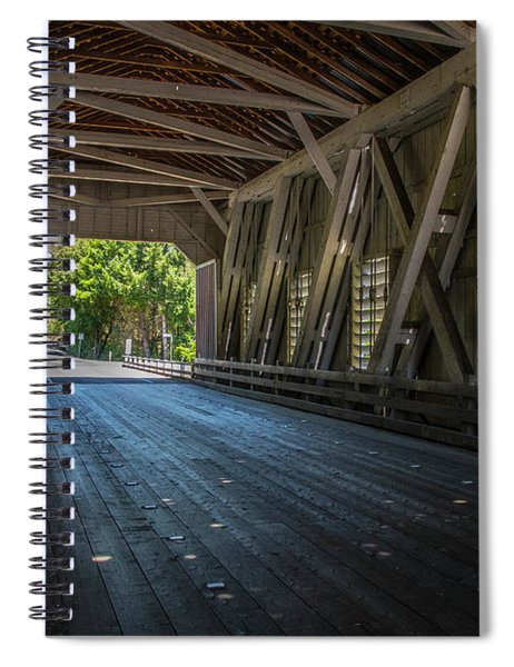 From The Inside Looking Out - Shimanek Bridge Spiral Notebook