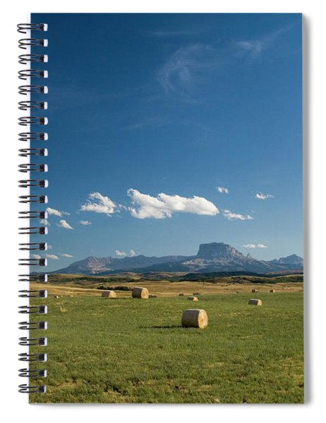 From The Prairie To The Rockies Spiral Notebook