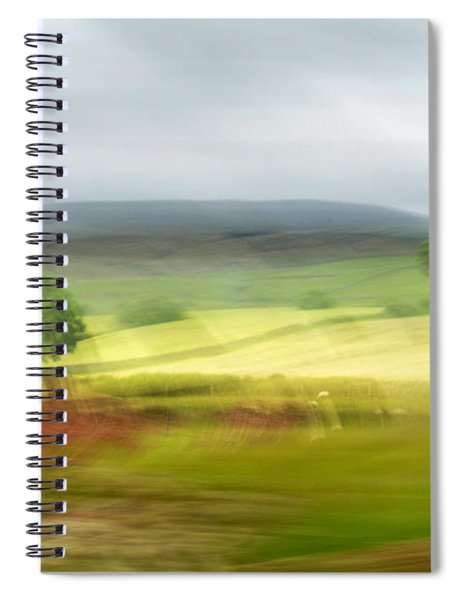 heading north of Yorkshire to Lake District - UK 1 Spiral Notebook