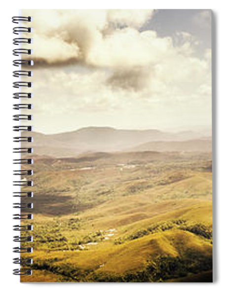 From Zeehan To Trial Harbour Spiral Notebook