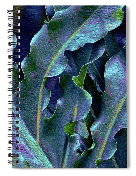 Fronds 53 Spiral Notebook