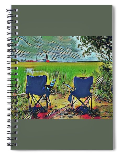 Front Row Seat Spiral Notebook