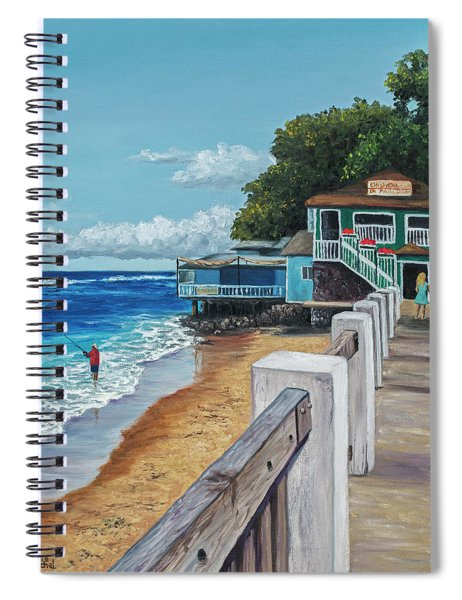 Front Street Lahaina Spiral Notebook