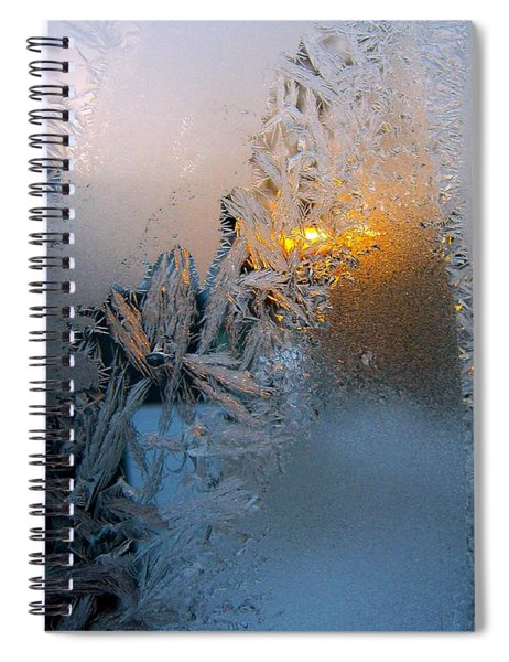 Frost Warning Spiral Notebook