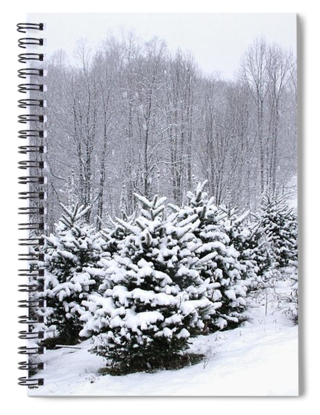 Frosted Frasers Spiral Notebook