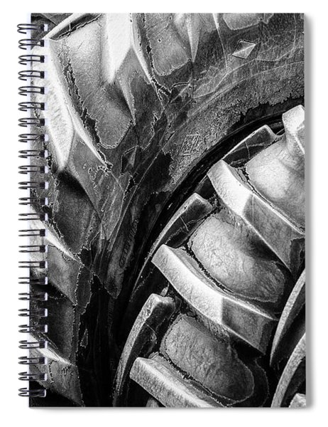 Frosted Tires Spiral Notebook