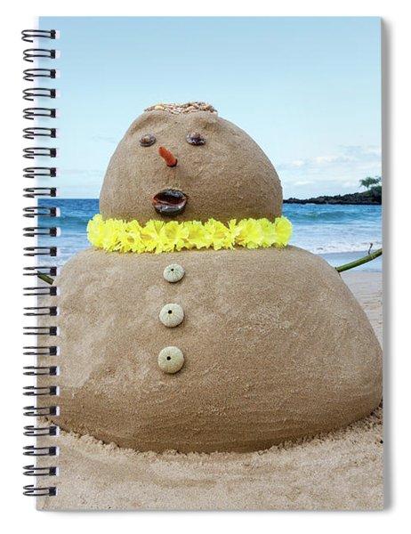 Frosty The Sandman Spiral Notebook