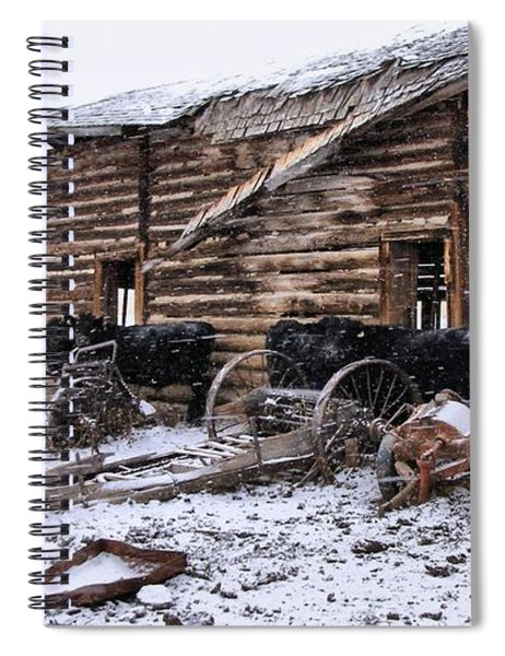 Frozen Beef Spiral Notebook
