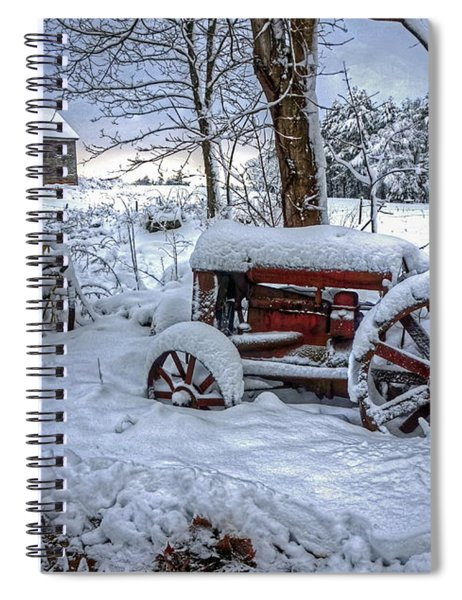 Frozen Relics Spiral Notebook