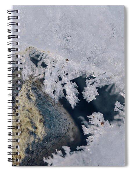 Frozen Rock Spiral Notebook