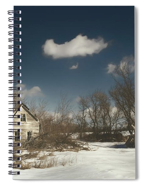 Frozen Stillness Spiral Notebook