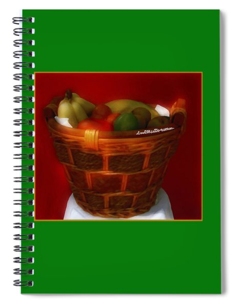 Fruit  Art 5 Spiral Notebook